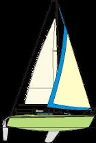 Siła wiatru w skali Beauforta: 5-6